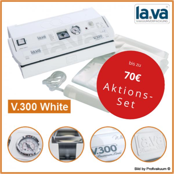 Vakuumiergerät LaVa V300 WHITE - Weiss - Top Design