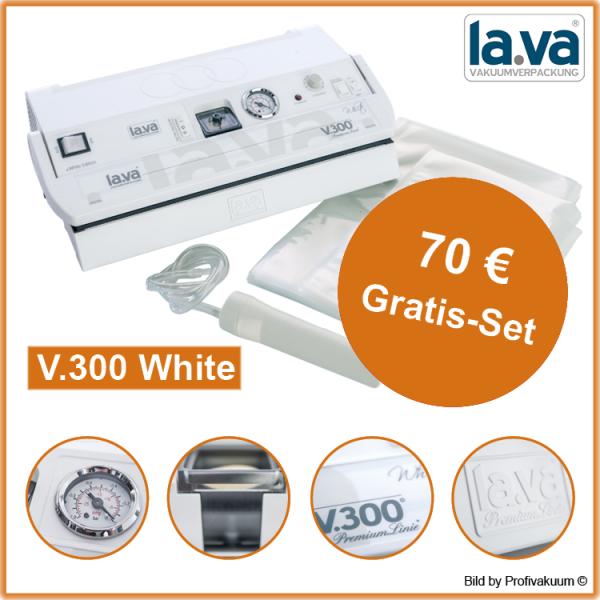 LaVa V.300 WHITE Vakuumiergerät inkl. großem Gratis-Set
