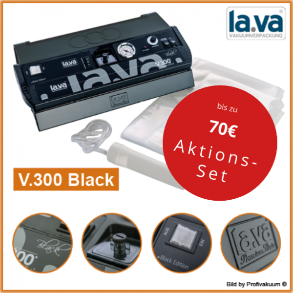 LaVa V300 BLACK Vakuumiergerät - Extraklasse Top Vakuumierer