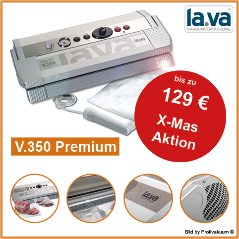 LaVa V350 Premium Vakuumiergerät inkl. großem Gratis-Set