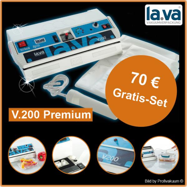 LaVa V.200 Premium Vakuumiergerät - inkl. großem Gratis-Set