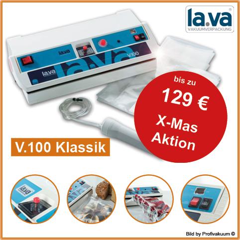 Vakuumierer V100 von LaVa mit bis zu 129 EUR Gratis