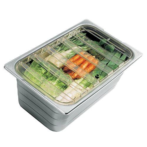 SB Spezial-Gastronormbehälter mit GD-Deckel - Größe 1/6, Tiefe 150 mm