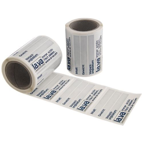 Lava Etiketten auf der Rolle - 100 Stück