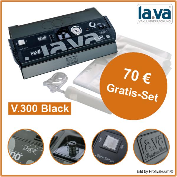 LaVa V300 BLACK Vakuumierer