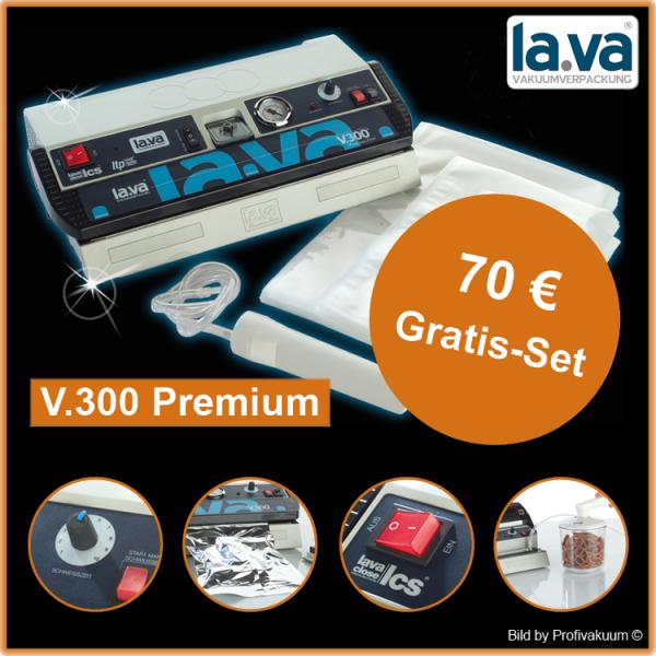 LaVa V.300 Premium Vakuumiergerät inkl. großem Gratis-Set