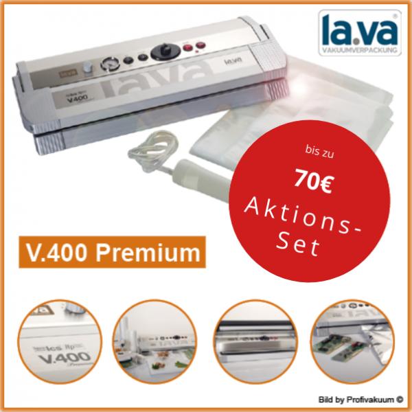 LaVa V400 Premium Vakuumiergerät inkl. großem Gratis-Set