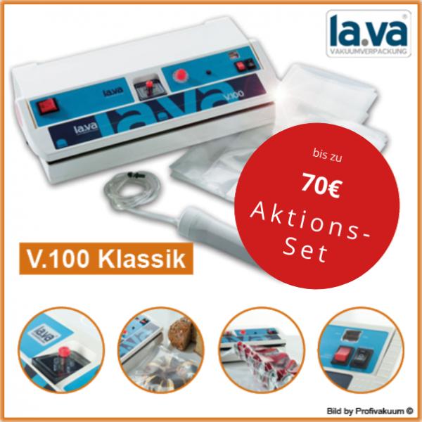 Lava V100 Vakuumierer - Profigerät Für Einsteiger mit bis zu 70 € Zugabe