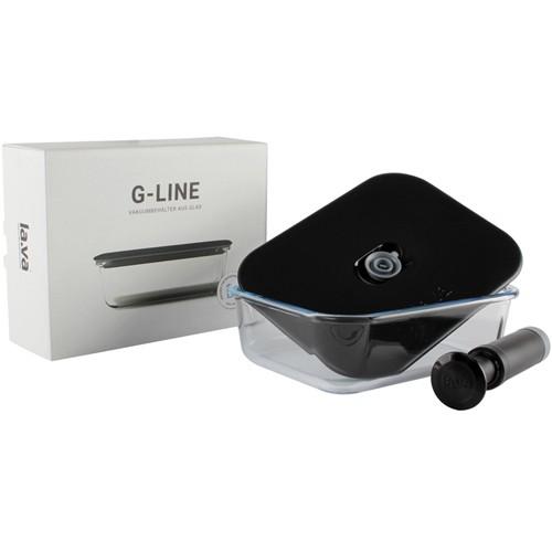 G-line Glas-Vakuumbehälter - Edel verpackt